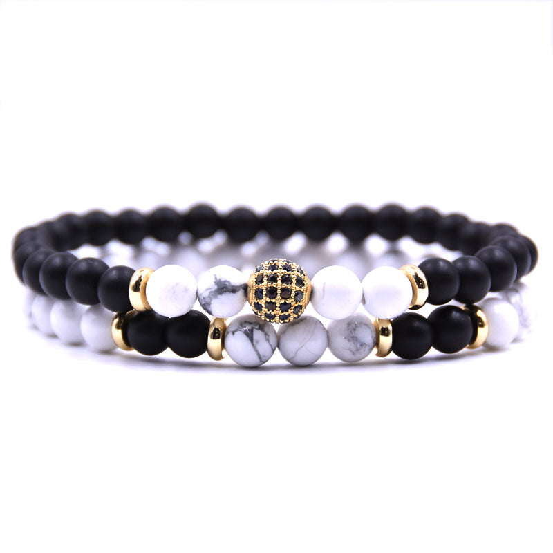 Howlite Disco Ball Bracelets - Calming and Compromise