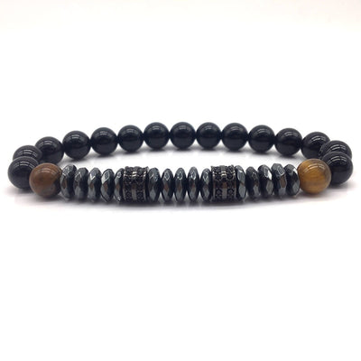 Casual Labradorite Beaded Bracelet