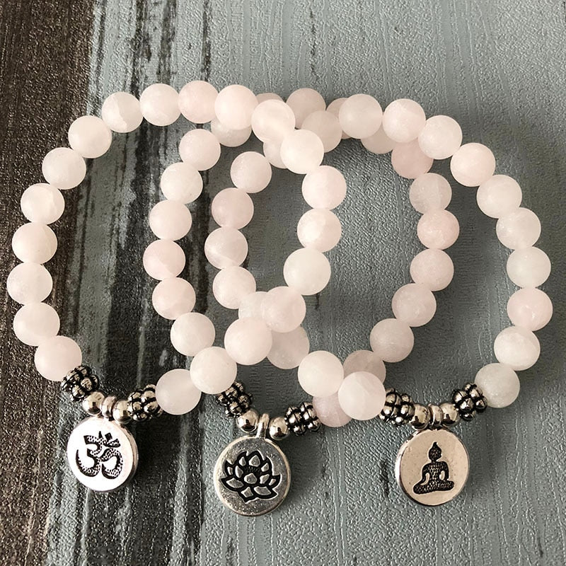 Pure Love Quartz Bracelet [3 Charms]