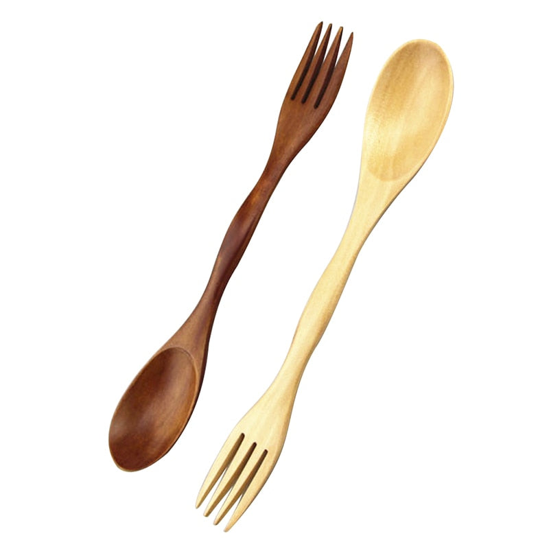 Df 147 Quality Wooden Spoon Forks