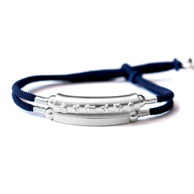 Hand Braided Double Layered Bracelet