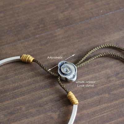 Df 60 Tibetan Handmade Lucky bracelet with Traditional Cloud Charm