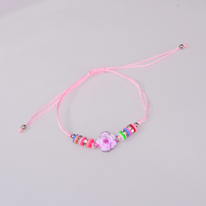 Adorable Bohemian Kids Charm Bracelets - 18 Meaningful Colors