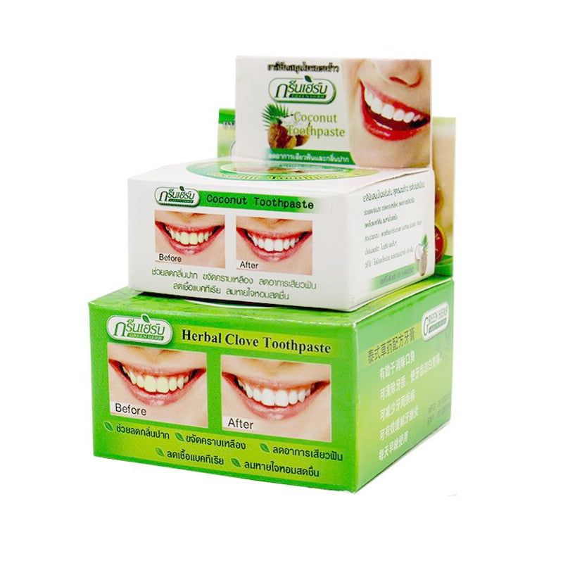 Natural Herbal Clove & Coconut Toothpaste