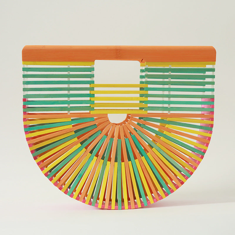 Mixed color BAMBOO MOON BAG