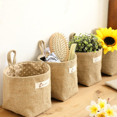 Df 117 Storage Sack Cloth bags Hanging Basket