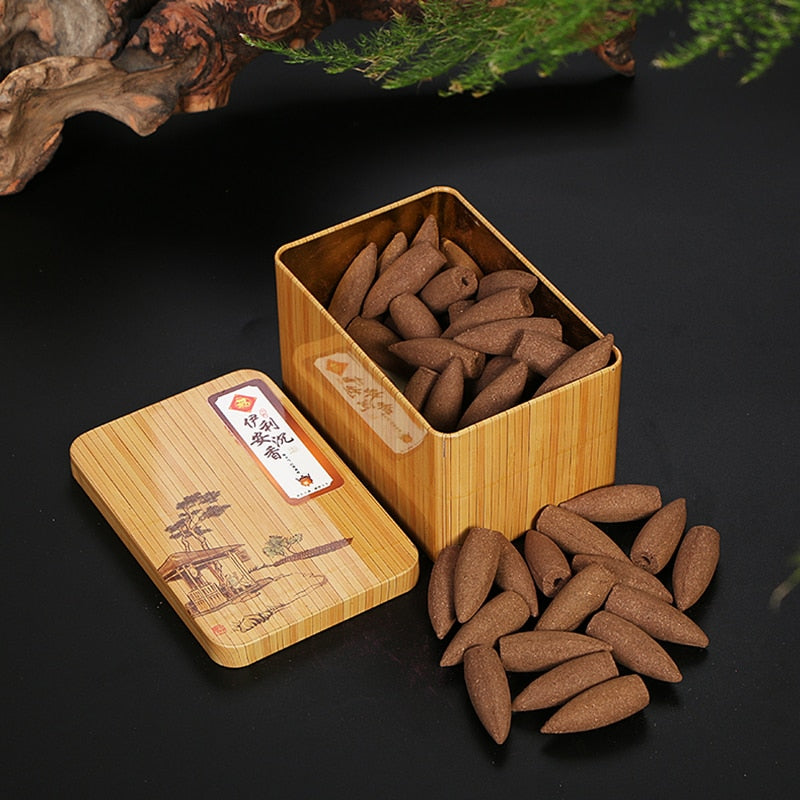 Df 28 Natural Flavor Backflow Incense Cones - 13 Natural Scents