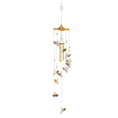 Copper Wind Chimes - Angel Cupid
