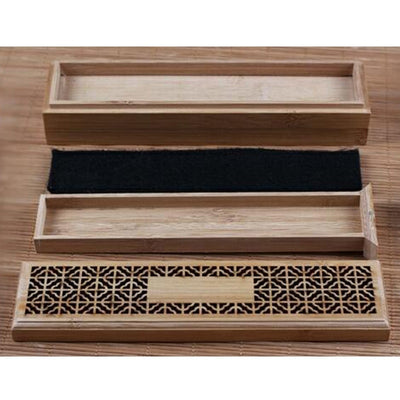 Bamboo Incense Burner Stick Holder
