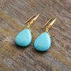Sunny Sky Teardrop Earrings
