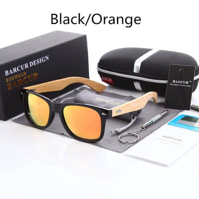 Polarized Bamboo Sunglasses