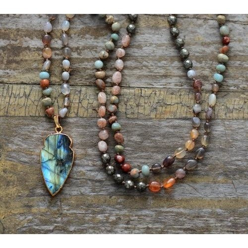 Arrowhead Magic Labradorite Necklace