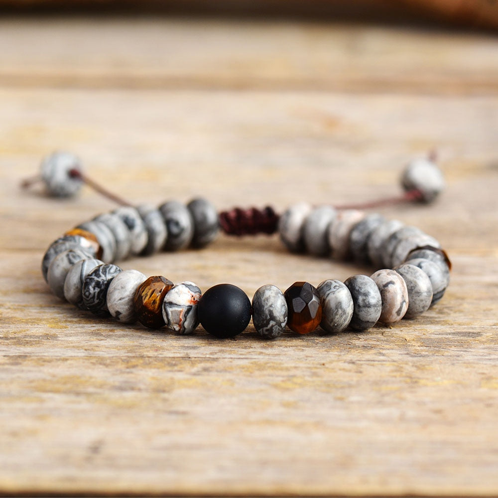 Visionary Faceted Jasper Bracelet