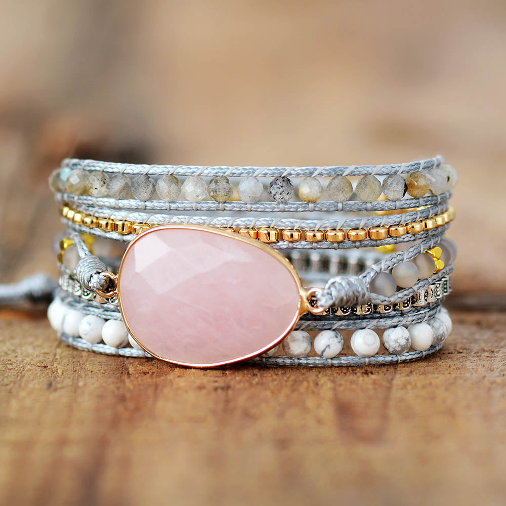 Magic Love Rose Quartz Bracelet