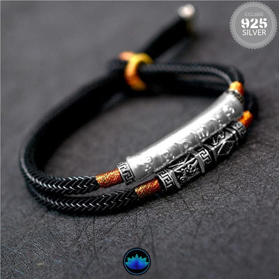 Double Layered Protection Mantra Bracelet