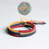 Tibetan Optimism Handbraided Bracelet