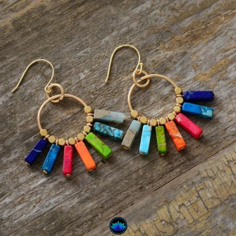 Color Burst Positivity Earring