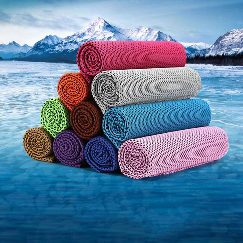 Df 116 Ice Towel 9 Colors Reusable Chill Cool Towel