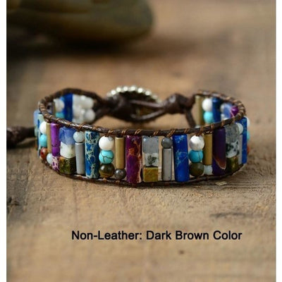 Bohemian Cuff Bracelet - Nourishment and Stability