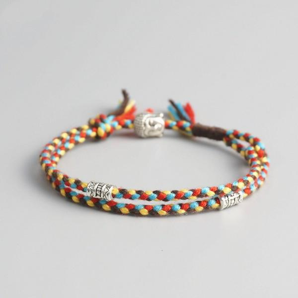 Multi-Layered Buddhist Lucky Bracelet