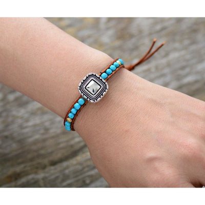 Antique Charm Single Wrap Bracelets