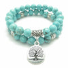 Howlite Tree of Life Bracelet