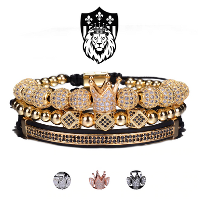 King Crown Bracelets Set [4 colors]