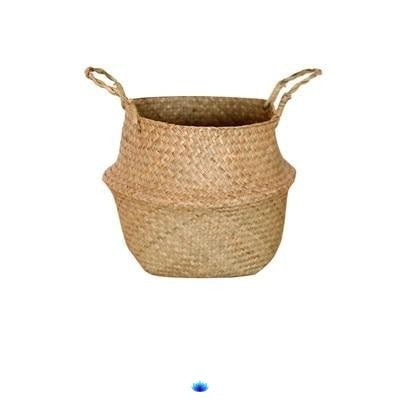 Handmade Rattan Storage Baskets