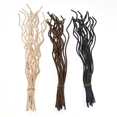 Df 34 20pcs Wavy Rattan Fragrance Diffuser Stick