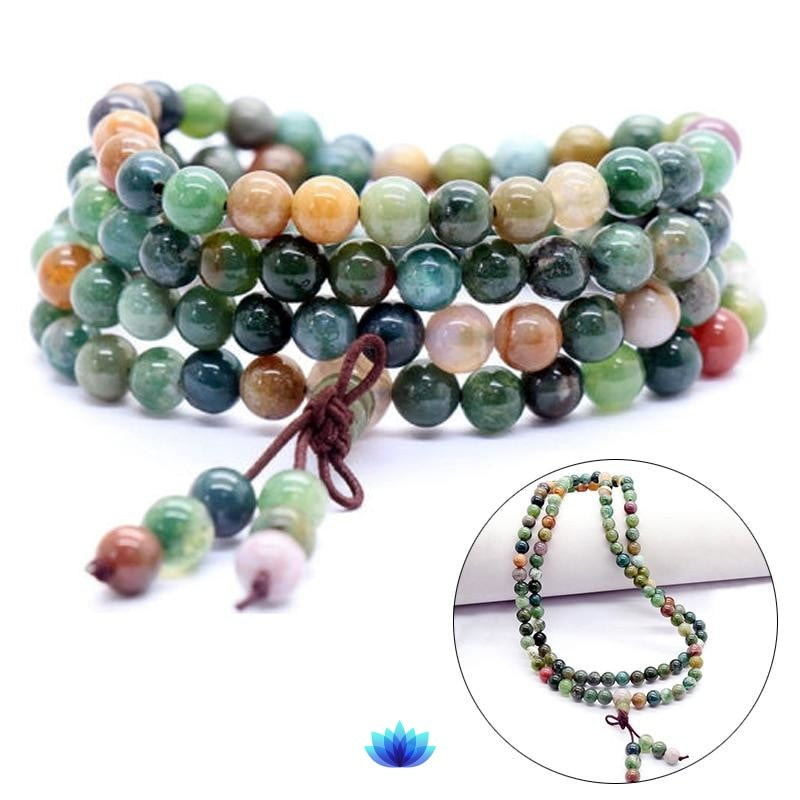 Df 67 108 Beads Crystal Mala