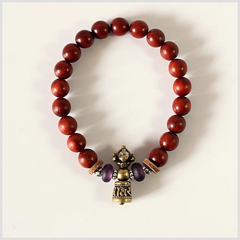 Tibetan Red Sandalwood Bracelet - Lucky