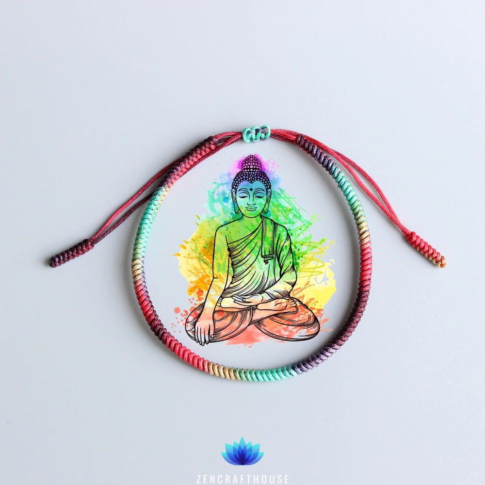 Buddhist Colors Therapy Bracelet [Self-Awareness]