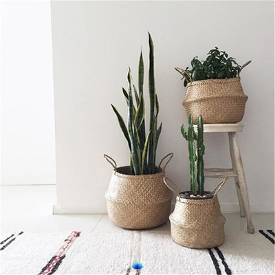 Df 118 Handmade Rattan Storage Baskets