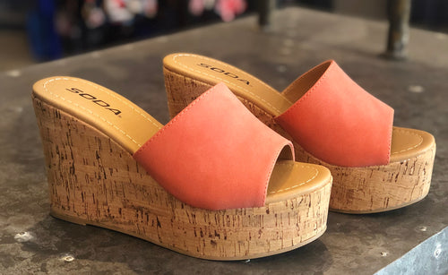 Coral Kiora Wedge