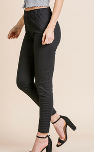 Not Your Everyday Jegging with Side Moto Detail