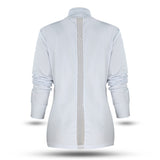 **NEW** White Jacket Styled with Mesh Inserts