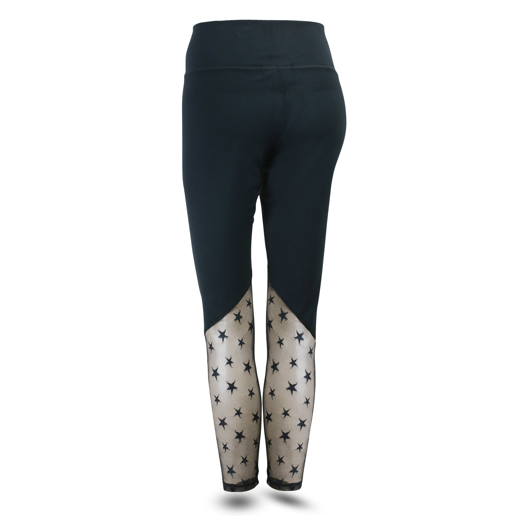 ***NEW***LIMITED EDITION STAR-MESH INSERT LEGGINGS