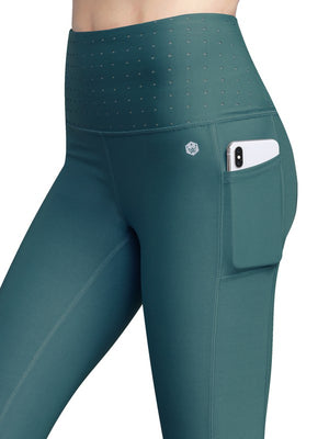 Hidden Pockets PINE  Leggings