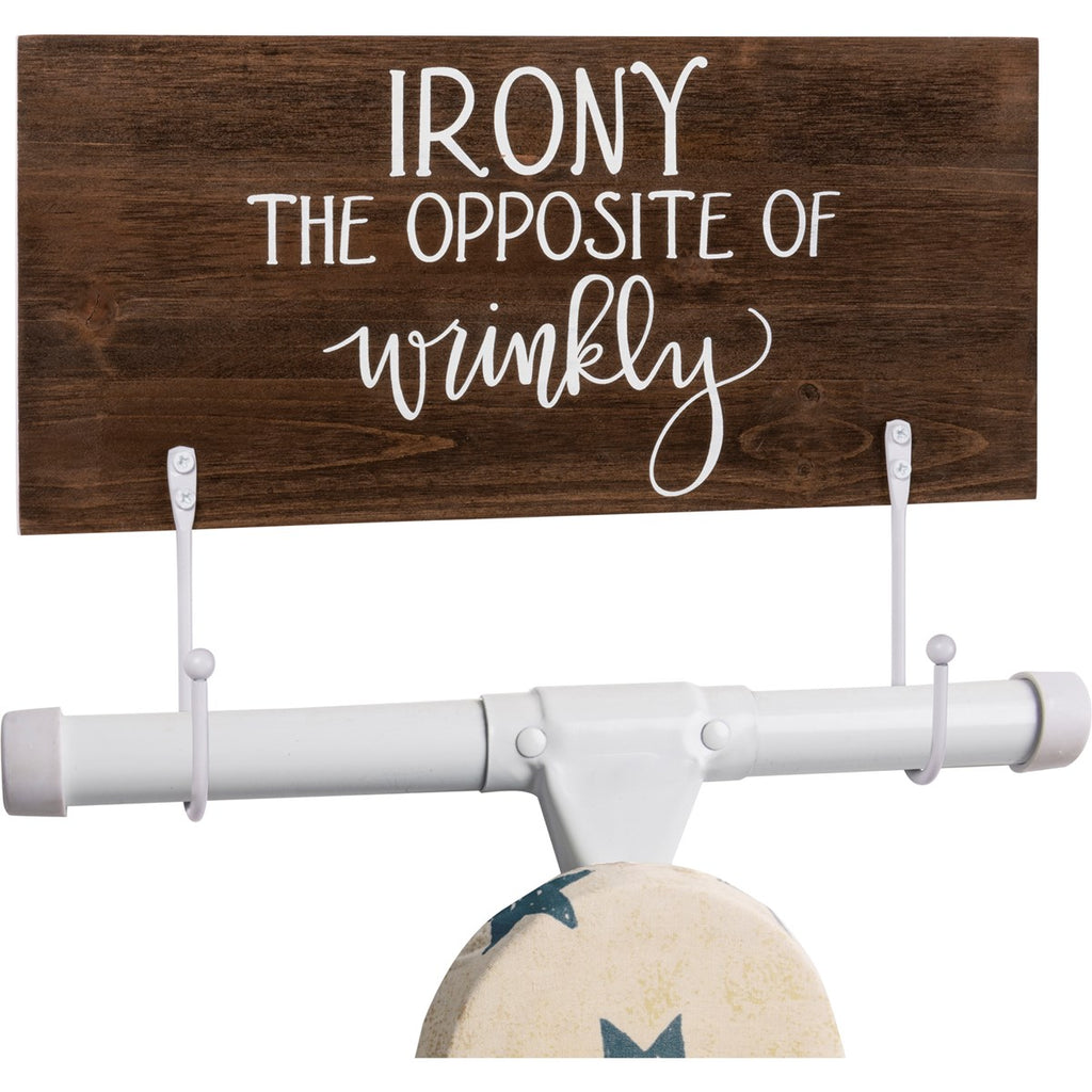 Hook Board - Irony The Opposite Of Wrinkly