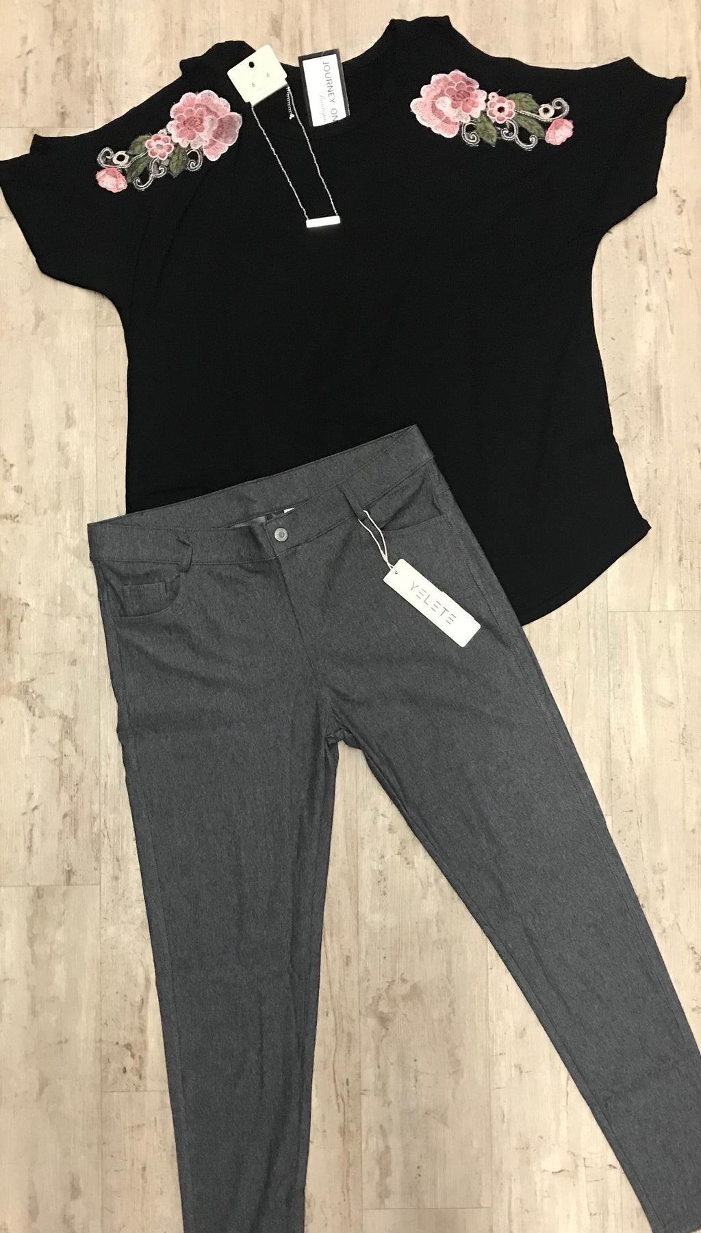 Grey Jegging