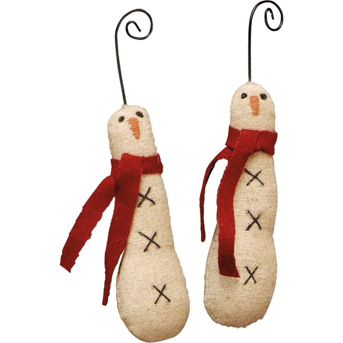 Ornament Set - Skinny Snowman