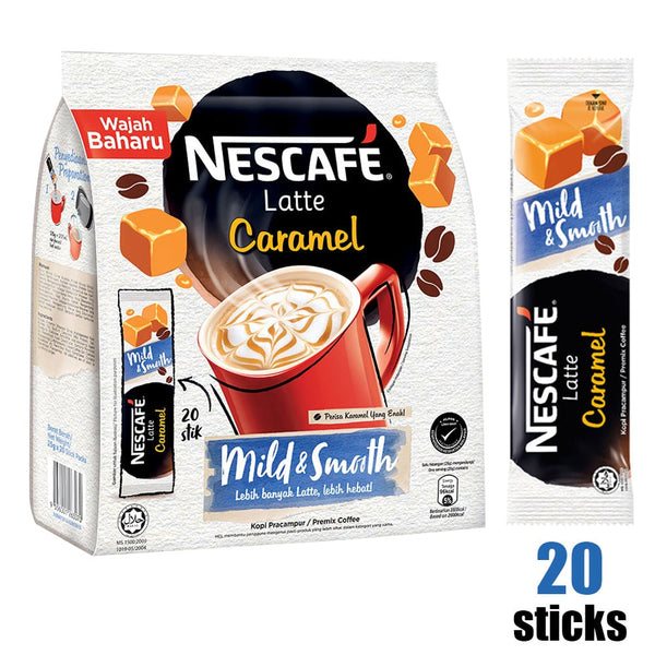 Nescafe 3-in-1 Latte Caramel