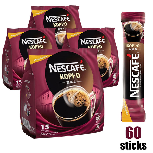 Nescafe 2-in-1 Kopi O <br/> Best by: 10/31/2020