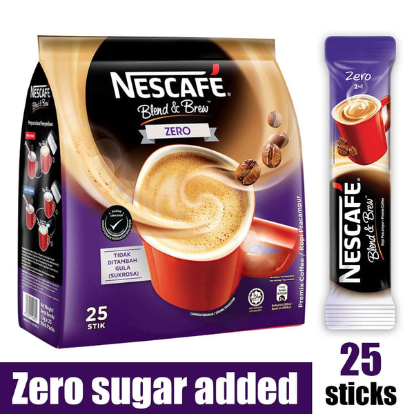 Nescafe 2-in-1 Zero Sugar