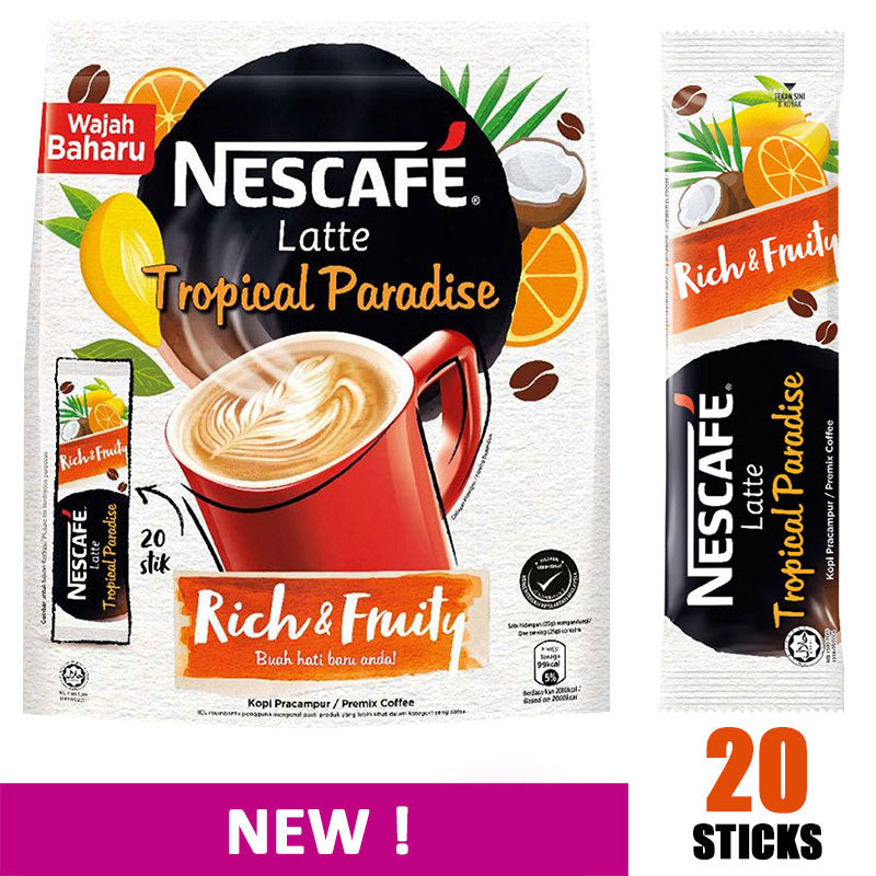 (Limited Edition) Nescafe 3-in-1 Latte Tropical