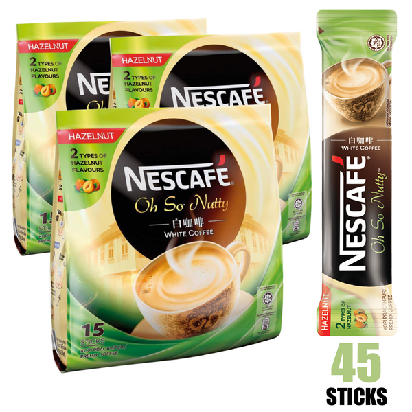 Nescafe 3-in-1 White Hazelnut 3-PK