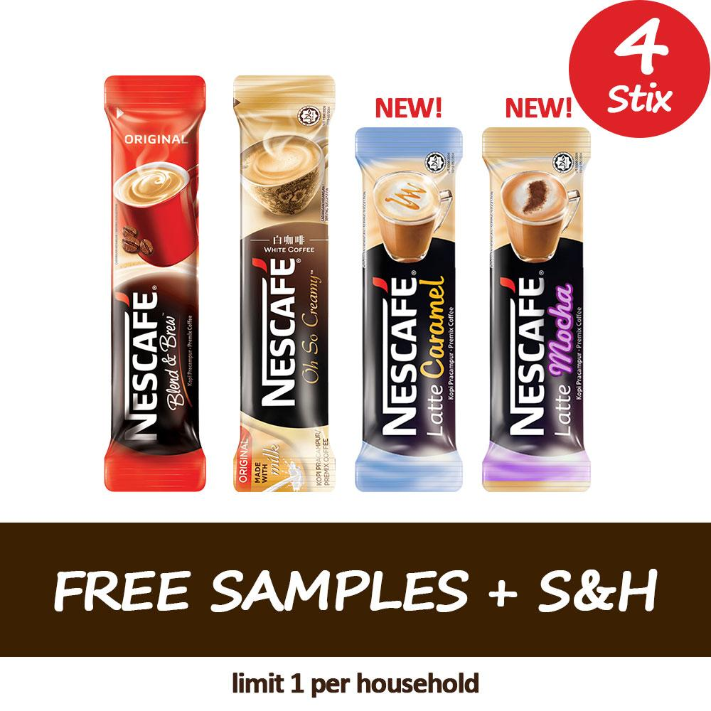 FREE Sample Stix + $3.99 S&H