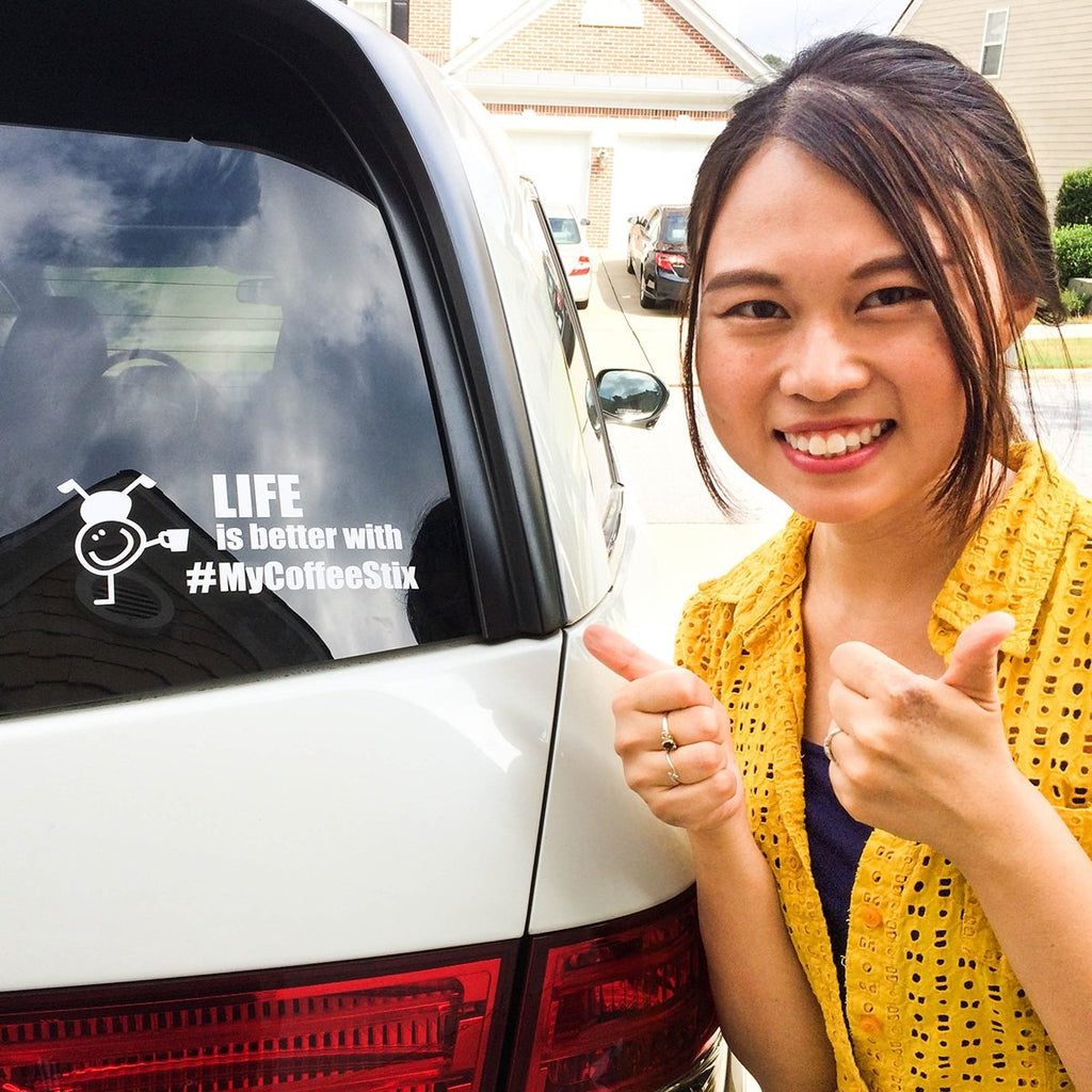 'LIFE Is Better' Car Decal
