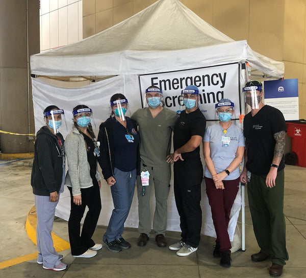 JimmyJane Sources, Donates 2100 PPE Face Shields to L.A. Hospitals in Need