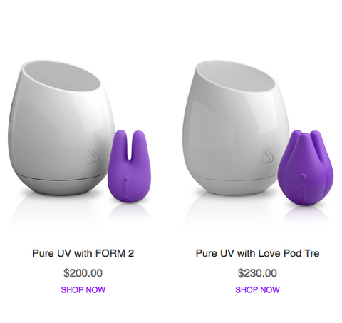 Form 2 and Love Pod Tre with Pure UV Sanitizer